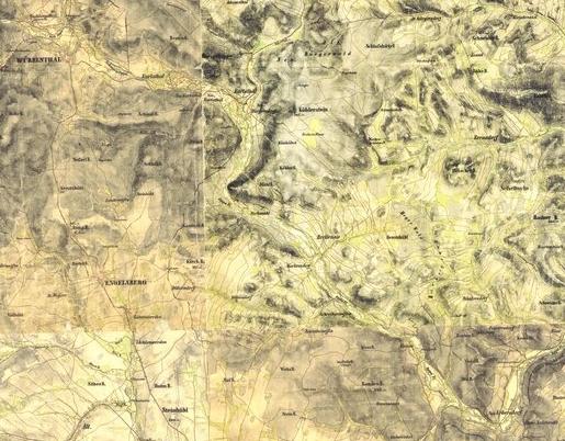 altvatergebirge karte Karaus aus dem Sudetenland Würbenthal   Altvatergebirge und seine